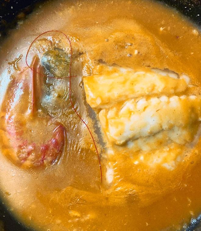 Bacalao a la Asturiana - Taberna Asturiana Zapico (1)