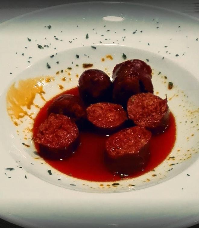 Chorizo a la Sidra - Taberna Asturiana Zapico