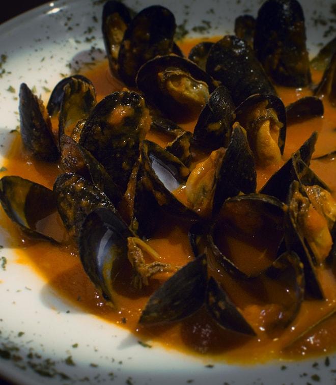 Mejillones a la asturiana - Taberna Asturiana Zapico