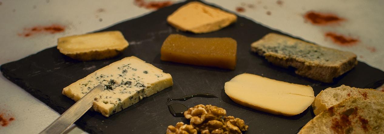 Tabla de quesos - Taberna Asturiana Zapico