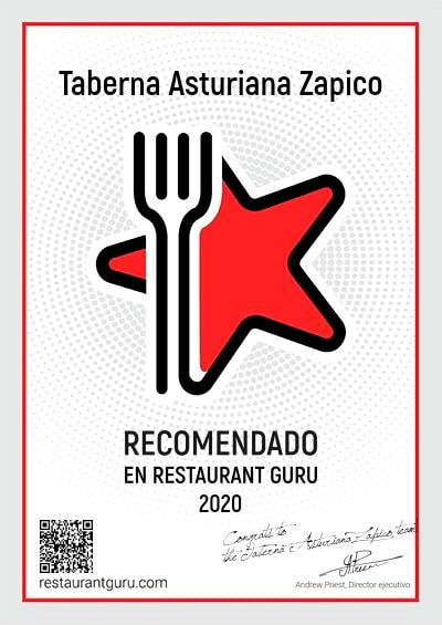 Restaurant Guru - Taberna Asturiana Zapico